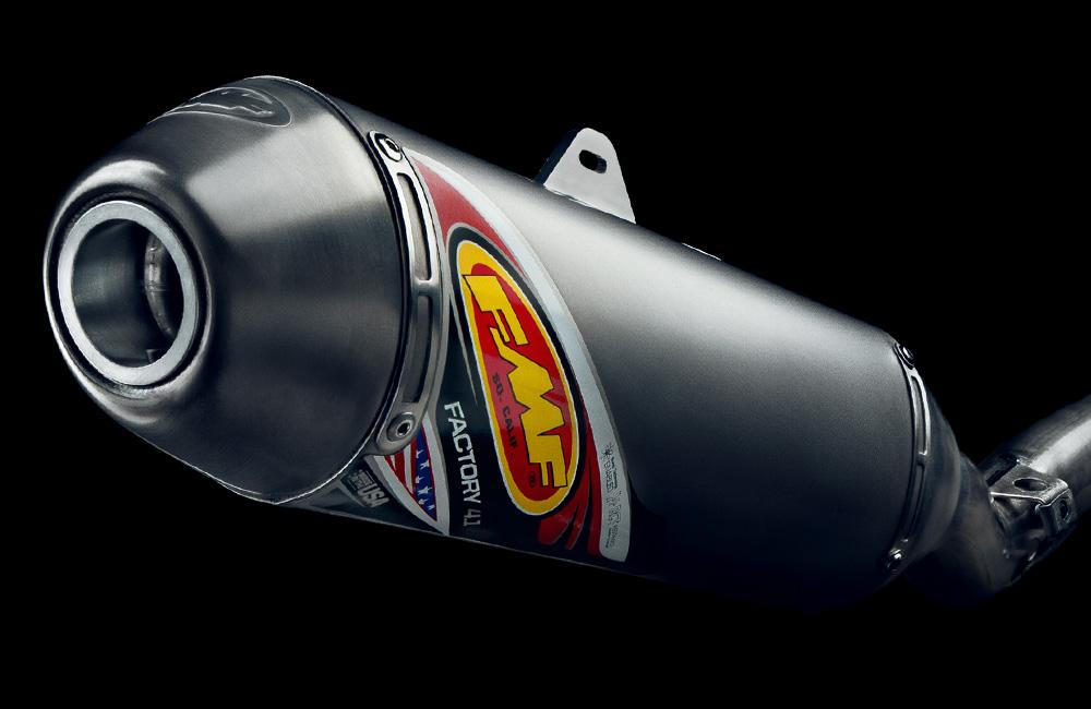 FMF Exhaust Decals | Taylor Creative