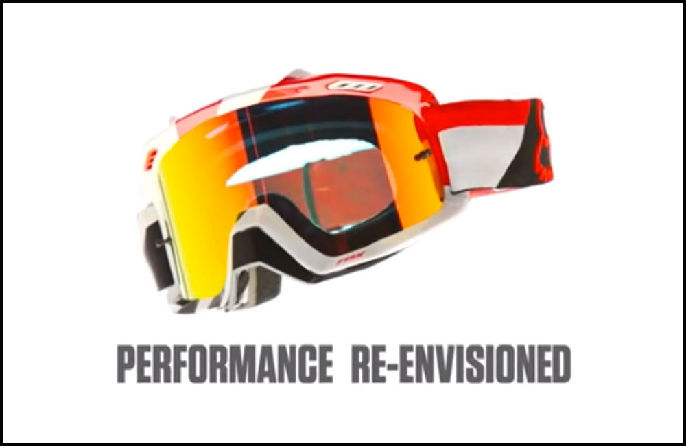 FOX Airspc Goggle Tech Video